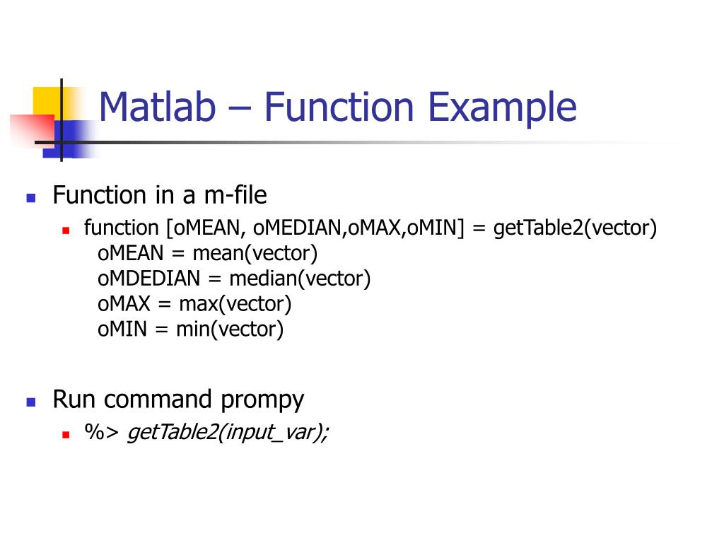 PPT - HY436: Mobile Computing and Wireless Networks MATLAB TUTORIAL