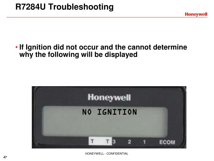 R7284U Troubleshooting