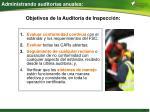 administrando auditor as anuales