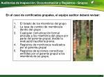 auditor as de inspecci n documentaci n y registros grupos
