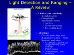 light detection and ranging a review