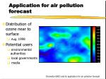 application for air pollution forecast1