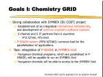 goals i chemistry grid
