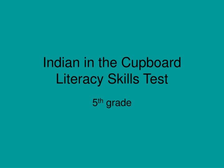 indian in the cupboard book report The secret of the indian (turtleback school & library binding edition) (indian in the cupboard) by banks, lynne r and a great selection of similar used, new and collectible books available now at abebookscom.