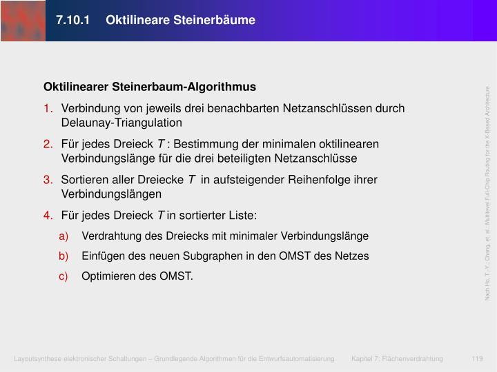 7.10.1Oktilineare Steinerbäume