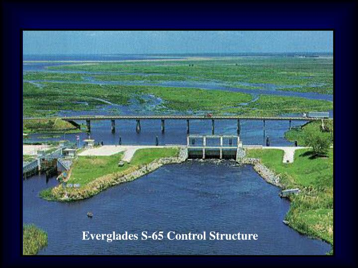 Everglades S-65 Control Structure