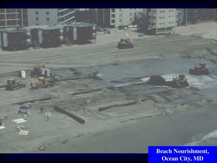 Beach Nourishment, Ocean City, MD