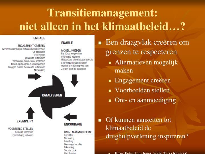 Transitiemanagement: