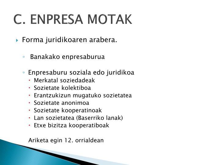 C. ENPRESA MOTAK