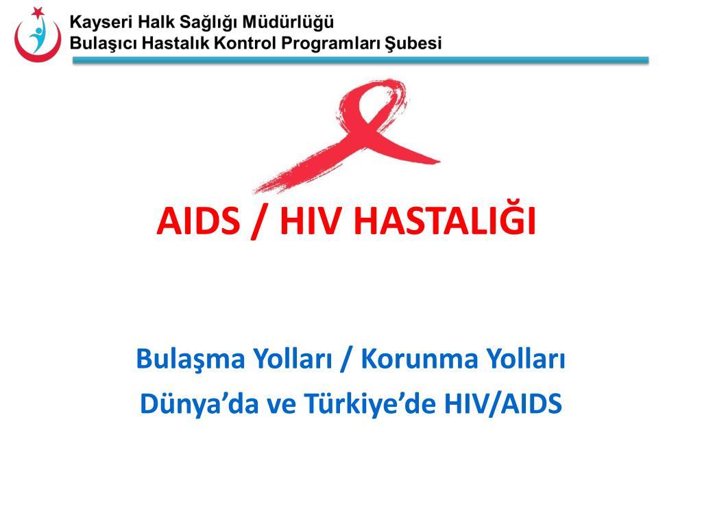 AIDS Hastalığı Tedavisi