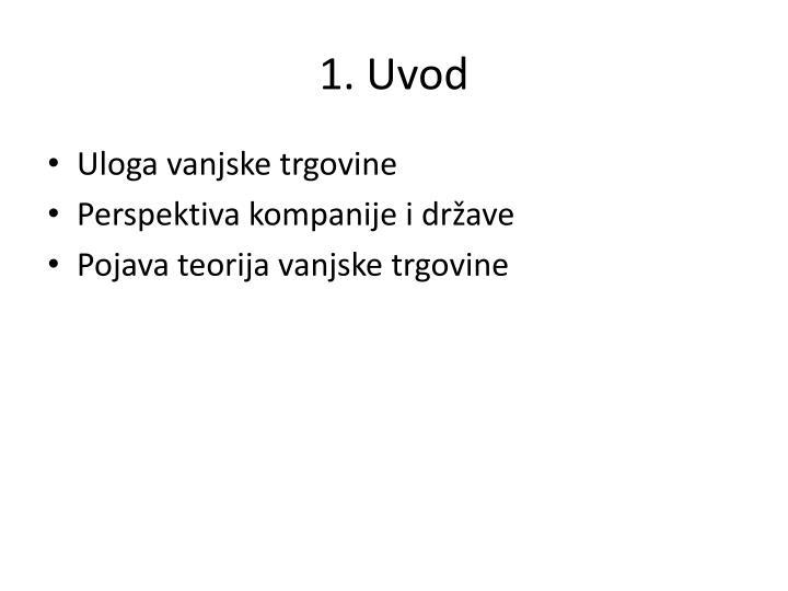 1 uvod