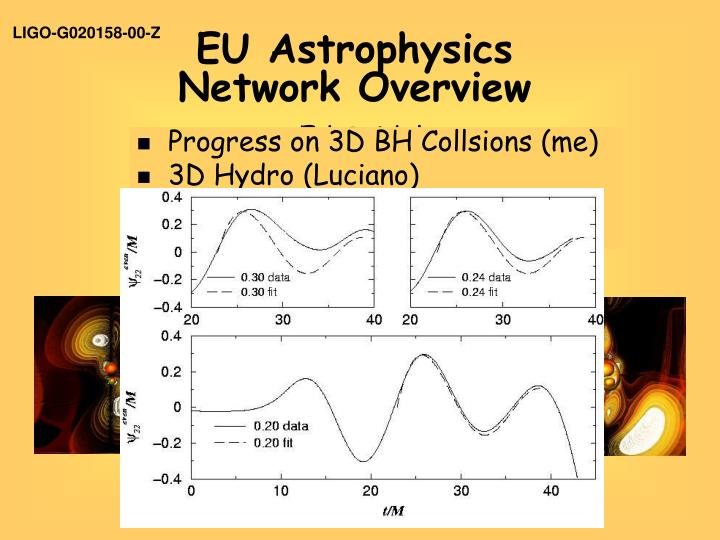 eu astrophysics network overview n.