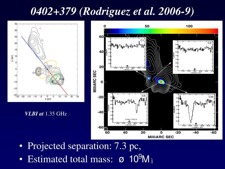 0402+379 (Rodriguez et al. 2006-9)