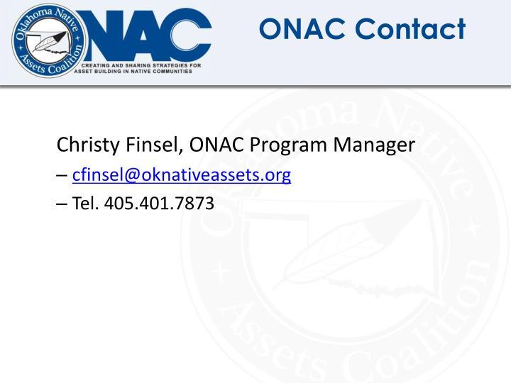 ONAC Contact
