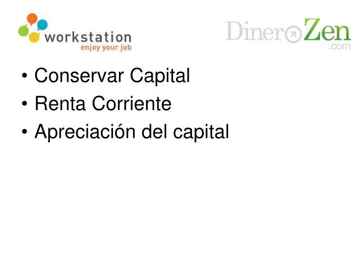 Conservar Capital