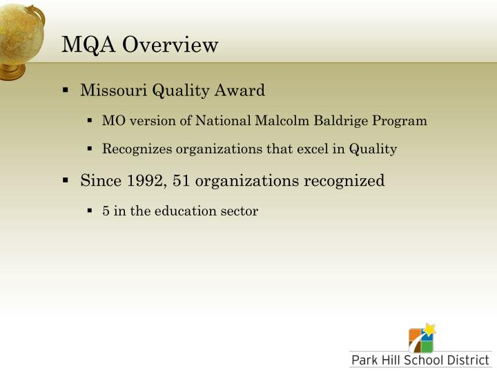 Mqa overview