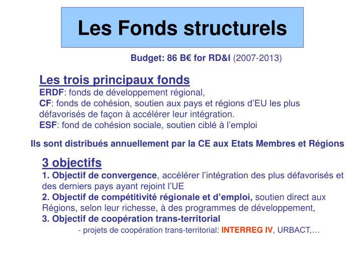 Les Fonds structurels