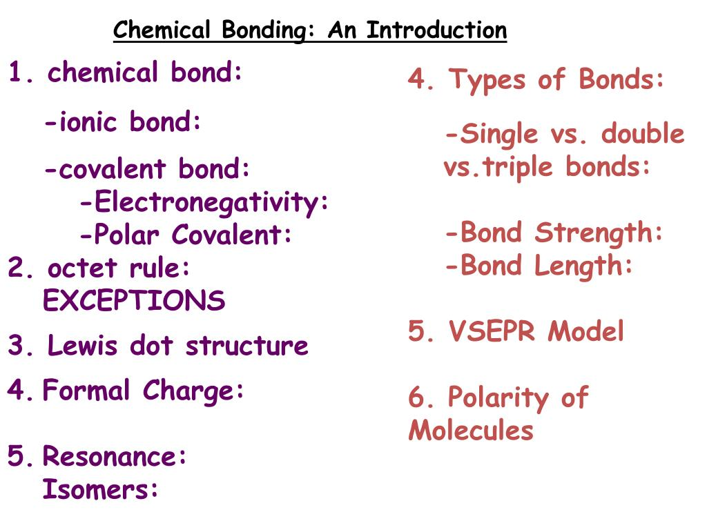 Ppt Chemical Bonding An Introduction 1 Chemical Bond Ionic Bond Covalent Bond Powerpoint Presentation Id 4521621