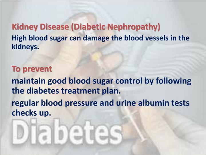 Kidney Disease (Diabetic Nephropathy)