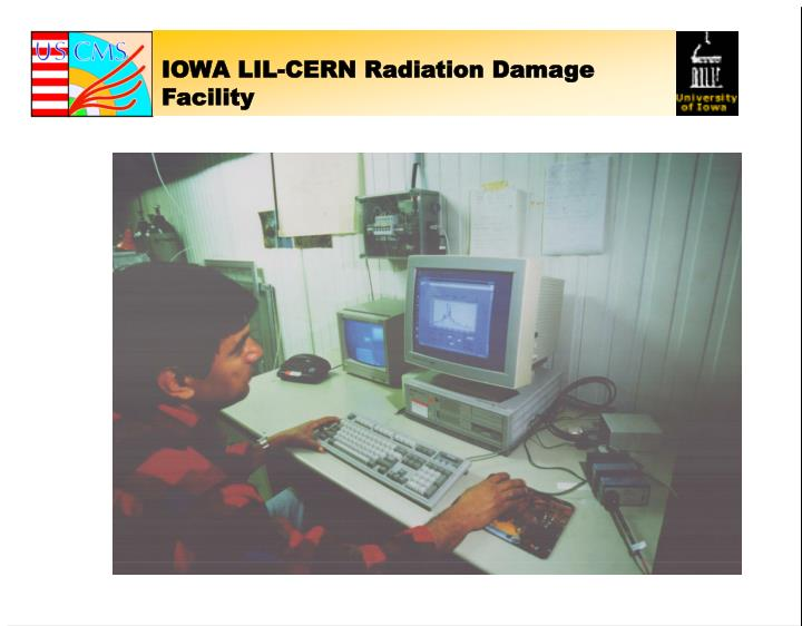 IOWA LIL-CERN Radiation Damage Facility