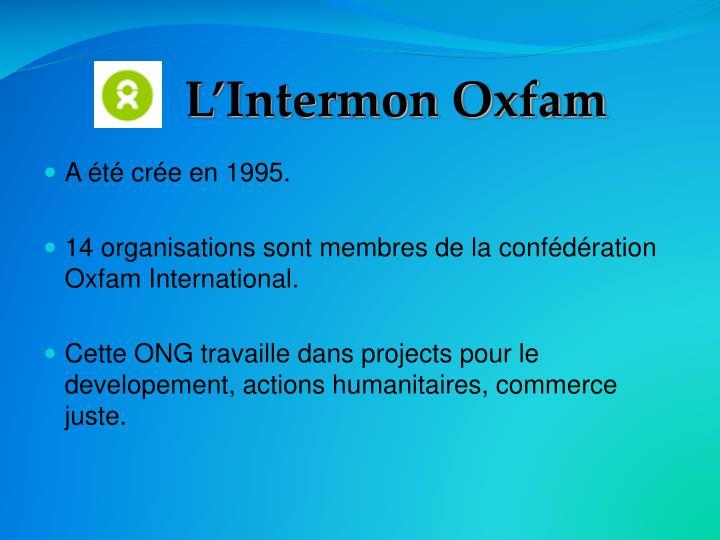 L'Intermon Oxfam