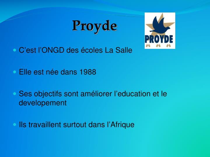 Proyde