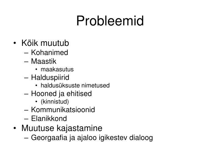 Probleemid