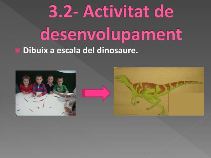 3.2- Activitat de desenvolupament