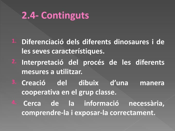 2.4- Continguts
