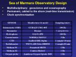 sea of marmara observatory design