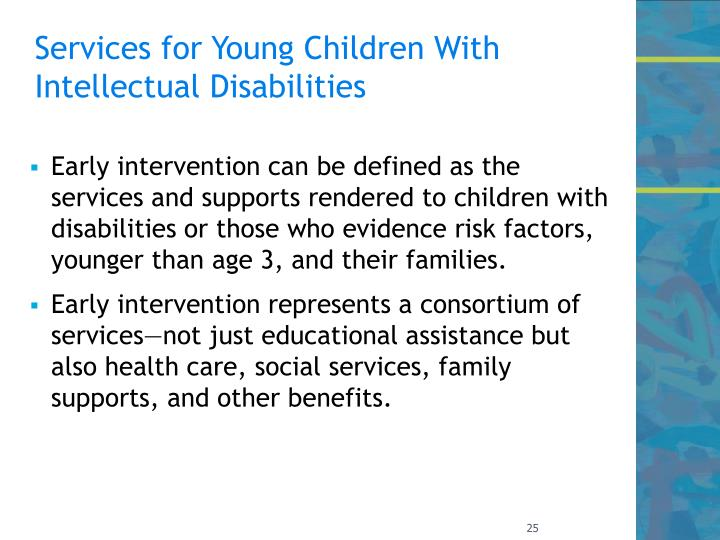 Services for Young Children With Intellectual Disabilities