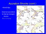 accretion shocks cont2