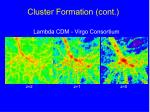 cluster formation cont1