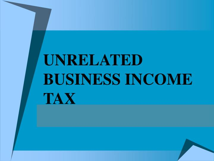 unrelated business income tax n.