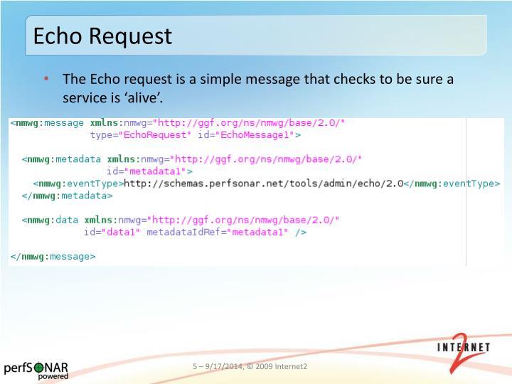 Echo Request