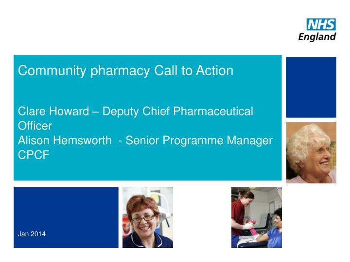 community pharmacy call to action n.