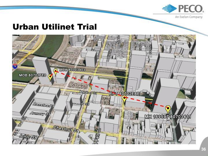 Urban Utilinet Trial