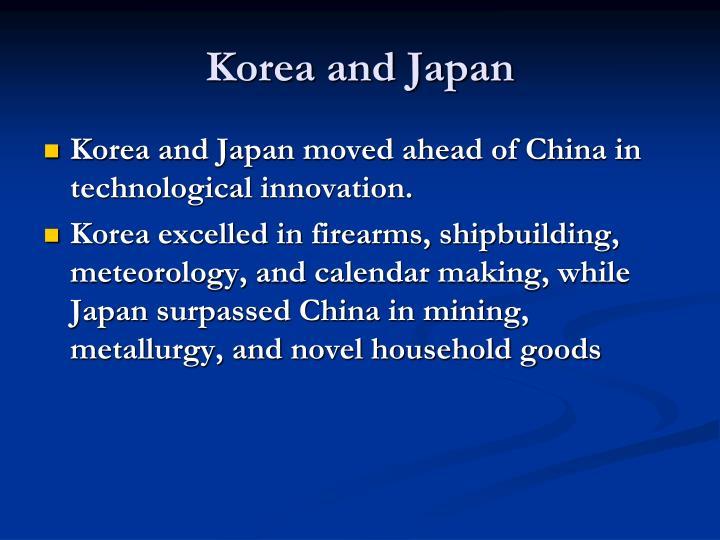 Korea and Japan