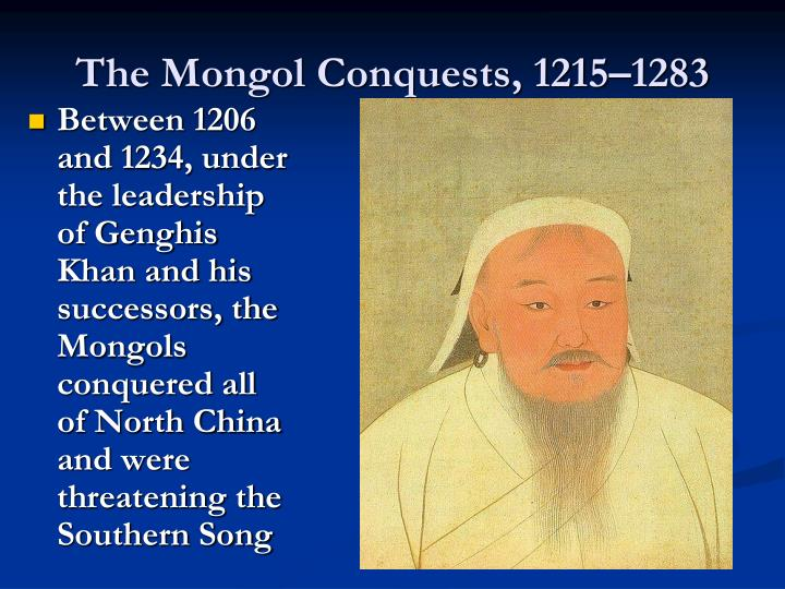 The Mongol Conquests, 1215–1283