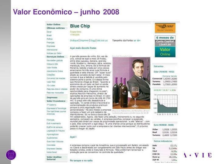 Valor Econômico – junho