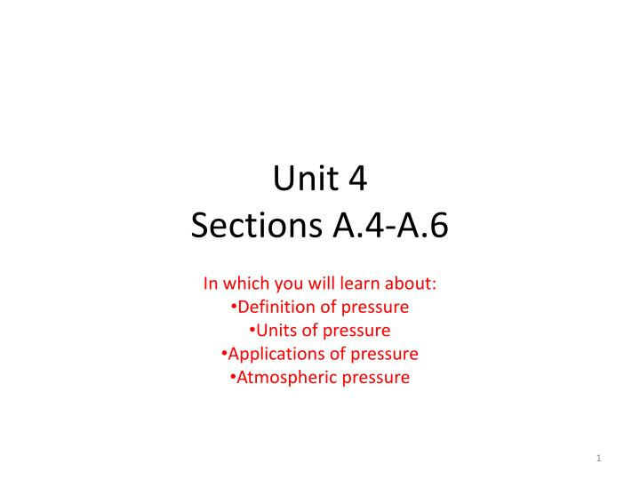 unit 4 sections a 4 a 6 n.