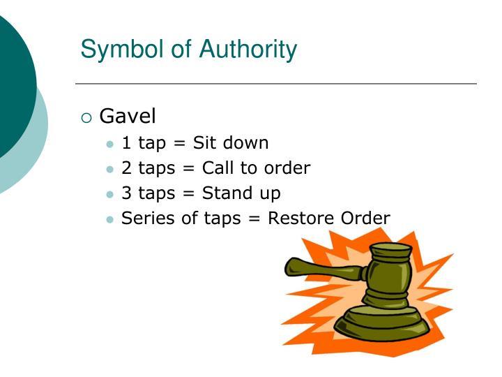 Symbol of Authority