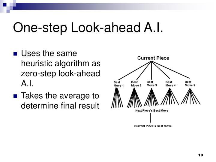 One-step Look-ahead A.I.