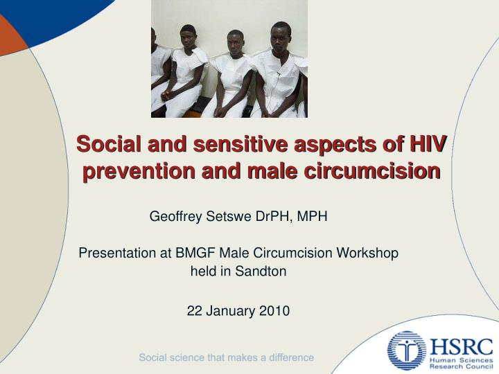 male circumcision a social and medical