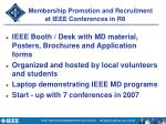 membership promotion and recruitment at ieee conferences in r81