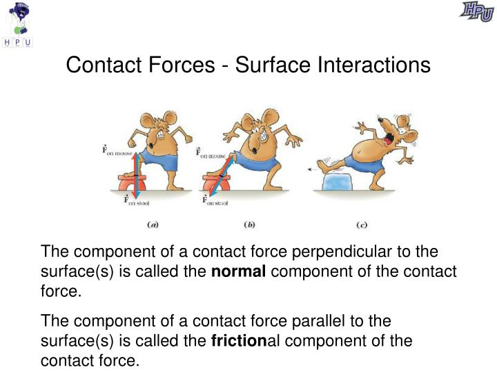 Contact Forces - Surface Interactions