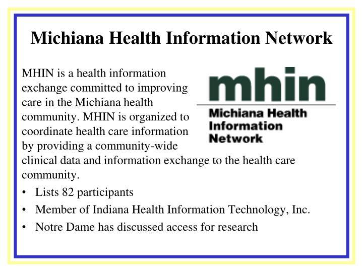 Michiana Health Information Network