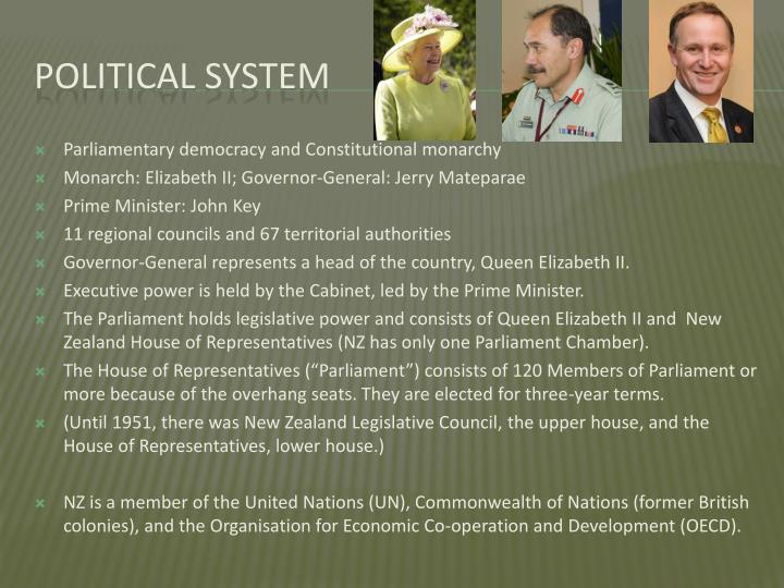 Parliamentary democracy and Constitutional monarchy
