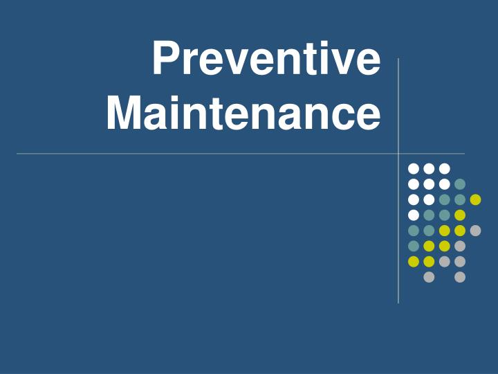 the pc preventive maintenance information technology essay Follow these steps to stop pc problems before they stop you your pc's two mortal enemies are heat and moisture excess heat accelerates the deterioration of the delicate circuits in your system.