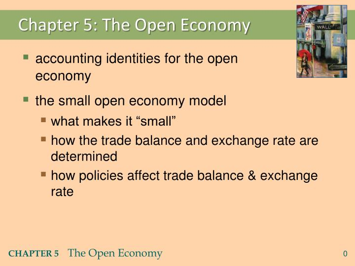 Chapter 5 the open economy